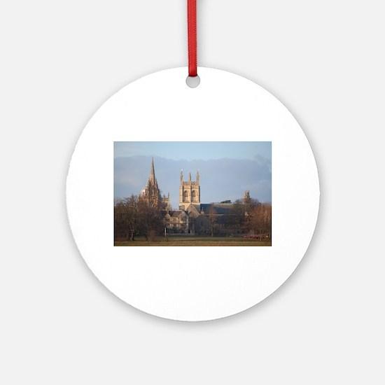 Christchurch College Round Ornament