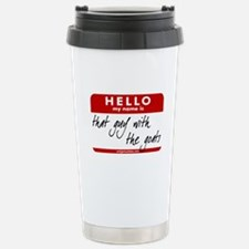Funny Caprine Travel Mug