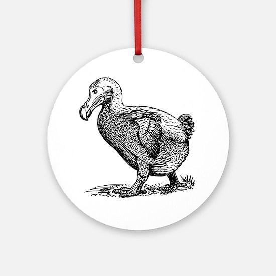 Dodo bird clip art Round Ornament