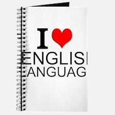 I Love English Language Journal