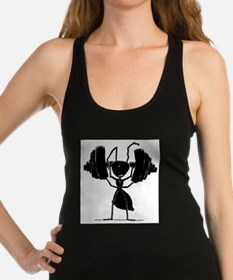 Cute Weight lifting Racerback Tank Top