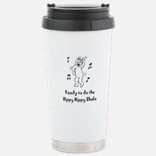 Ready to do the Hippy H Stainless Steel Travel Mug