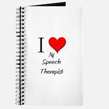 I Love My Speech Therapist Journal