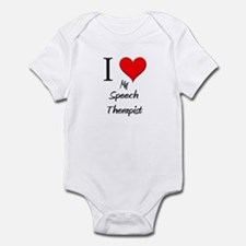 I Love My Speech Therapist Infant Bodysuit