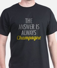 Cute Wine is the answer T-Shirt