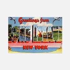 Long Island New York Greetings Magnets