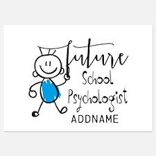 Future School Psychologist Personal 5x7 Flat Cards