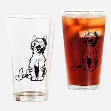 Cat meow clip art Drinking Glass
