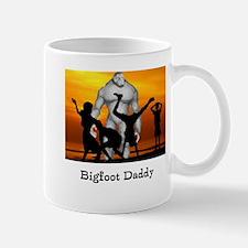 Bigfoot Daddy Mugs