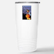Halloween theme design Travel Mug