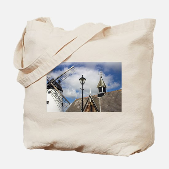 Unusual View of Windmill at Lytham St. An Tote Bag