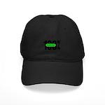 100% Green Black Cap