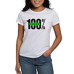 100% Green Women's T-Shirt