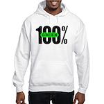100% Green Hoodie