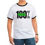 100% Green Ringer T