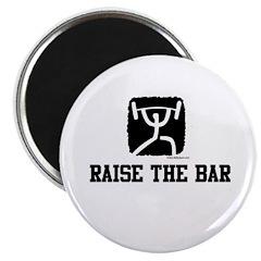 """RAISE THE BAR 2.25"""" Magnet (10 pack)"""