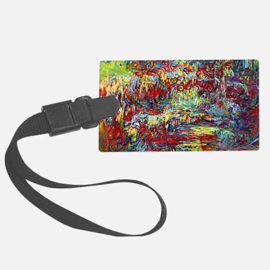 Funny Claude monet Luggage Tag