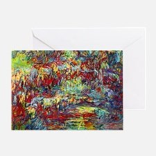 Cool Claude monet Greeting Card