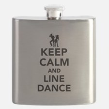 Keep calm and line dance Flask