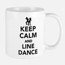 Keep calm and line dance Mug