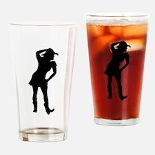 Line dance Drinking Glass