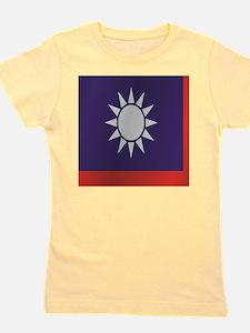 Funny Republic china flag Girl's Tee