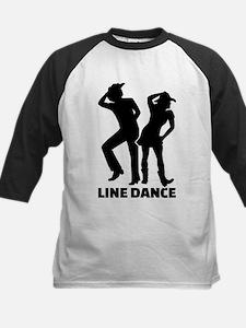 Line dance Kids Baseball Jersey