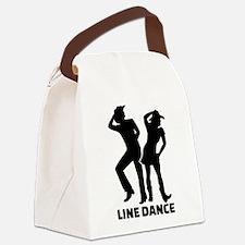 Line dance Canvas Lunch Bag