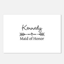 Bridal Party Personalized Postcards (Package of 8)