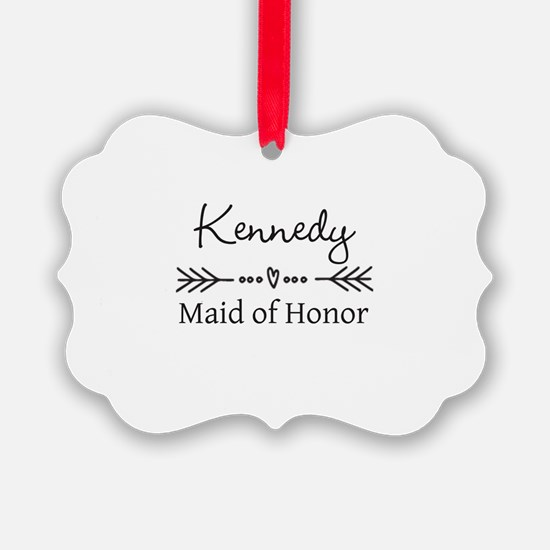 Bridal Party Personalized Ornament