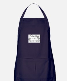 Bridal Party Personalized Apron (dark)