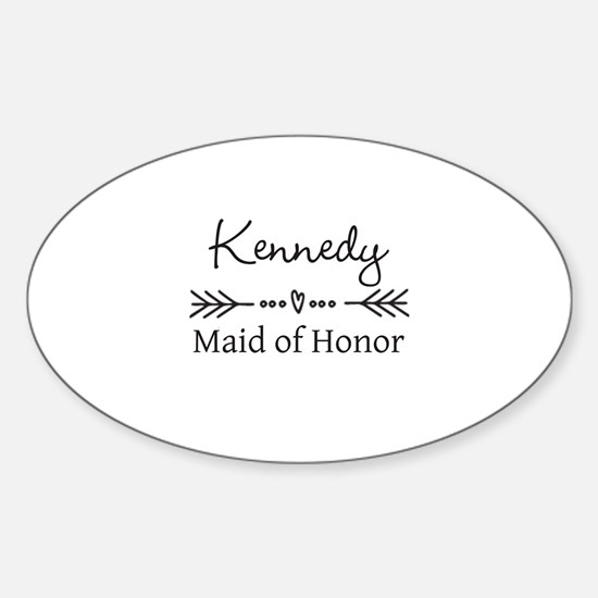Bridal Party Personalized Decal