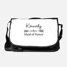 Bridal Party Personalized Messenger Bag