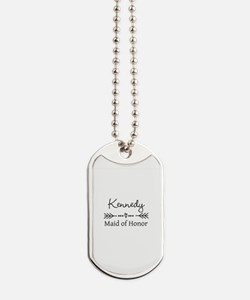 Bridal Party Personalized Dog Tags