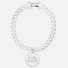 Bridal Party Personalized Bracelet