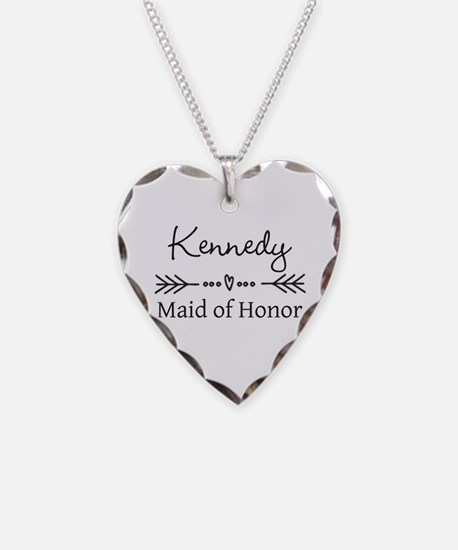 Bridal Party Personalized Necklace