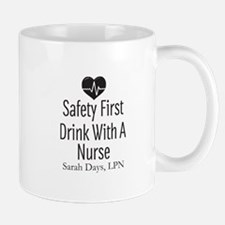 Drink with a Nurse Personalized Mugs