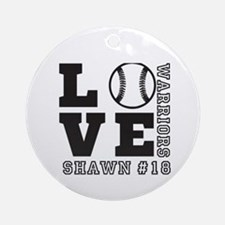 Baseball or Softball Personalized Team and Name Ro