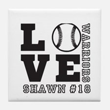 Baseball or Softball Personalized Team and Name Ti
