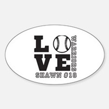 Baseball or Softball Personalized Team and Name St