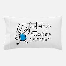 Future Attorney Personalized Pillow Case
