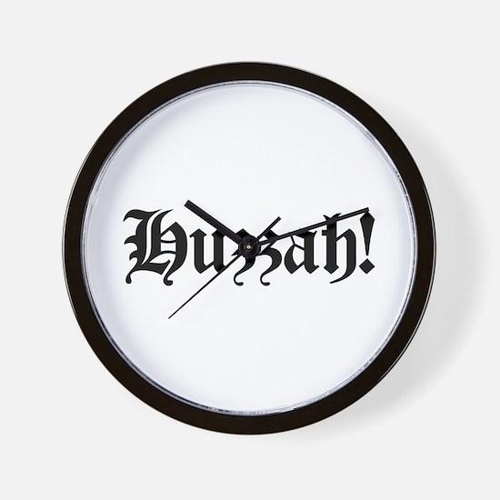 Huzzah! Wall Clock
