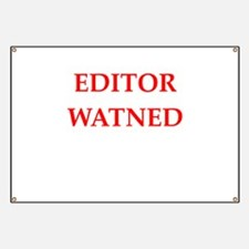 editor Banner