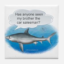 Auto Finance Shark Tile Coaster