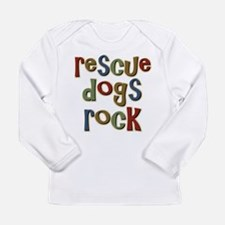 Rescue Dogs Rock Pet Dog Lover Long Sleeve T-Shirt