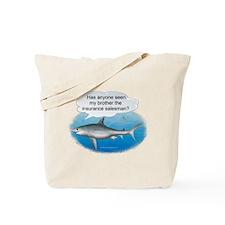 Insurance Salesman Shark Tote Bag