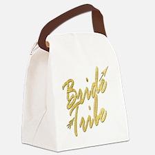Unique Bridesmaid Canvas Lunch Bag