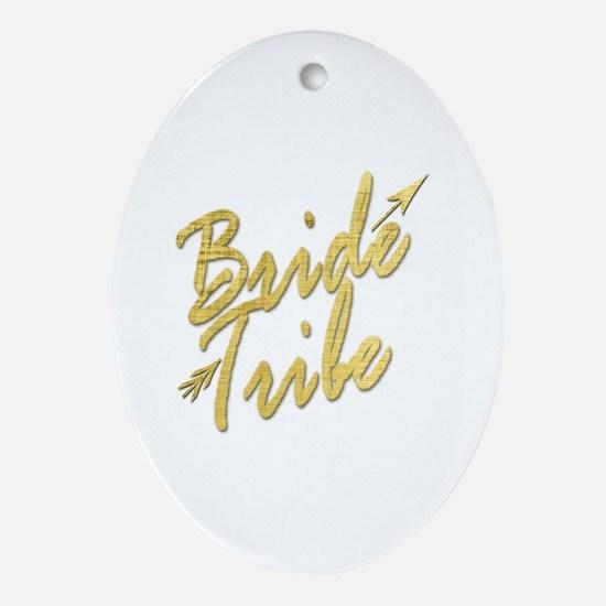 Unique Bridal party Oval Ornament