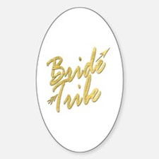 Cute Bridal party Sticker (Oval)