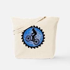 Unique Mountain biking Tote Bag